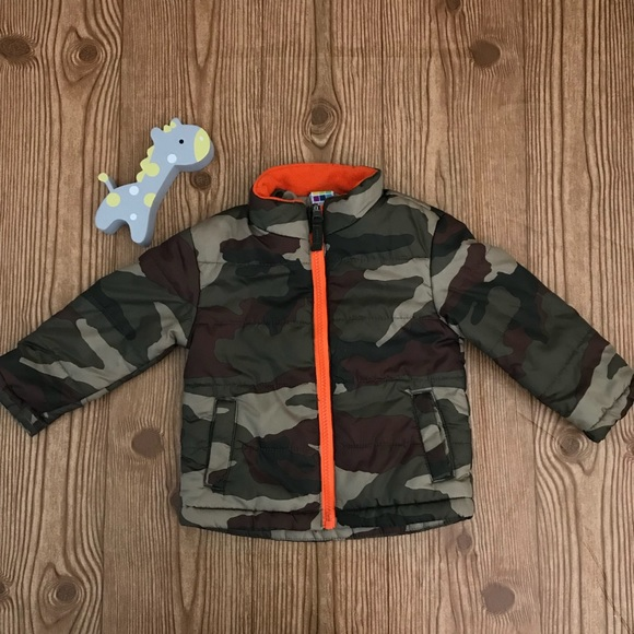 d13628a8c healthtex Jackets & Coats | Infant Coat Puffer Jacket Camouflage ...